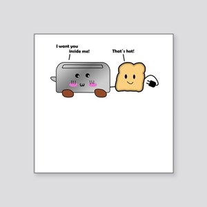 Toaster and Toast Sticker