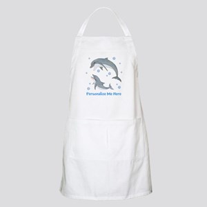 Personalized Dolphin Apron