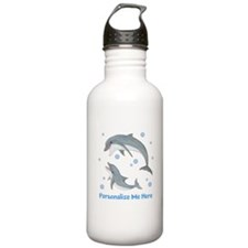 Personalized Dolphin Stainless Water Bottle 1.0L