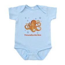 Personalized Octopus Infant Bodysuit