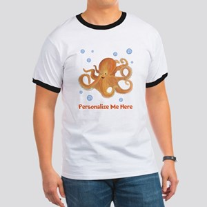 Personalized Octopus Ringer T