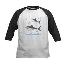 Personalized Shark Kids Baseball Jersey