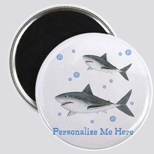 Personalized Shark Magnet