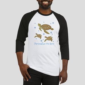 Personalized Sea Turtles Baseball Jersey