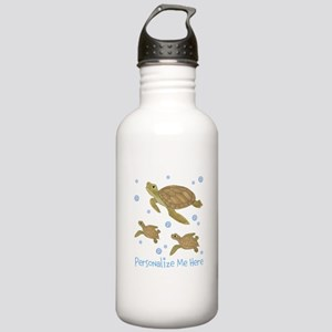 Personalized Sea Turtles Stainless Water Bottle 1.