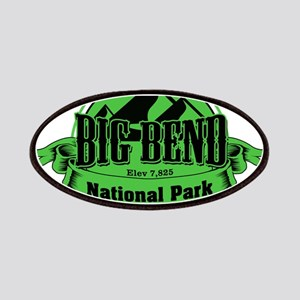 big bend 5 Patches