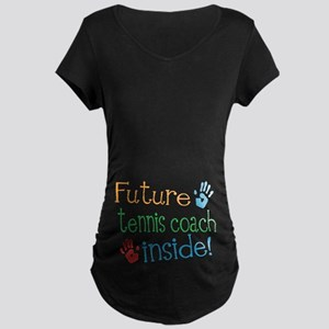 Tennis Coach Maternity T-Shirt