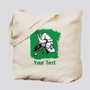 Viking with Custom Text. Tote Bag