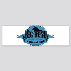 big bend 3 Bumper Sticker