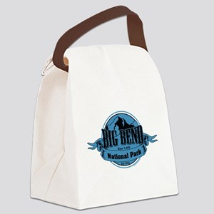 big bend 3 Canvas Lunch Bag