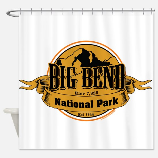 big bend 3 Shower Curtain