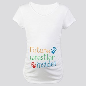 Wrestler Maternity T-Shirt
