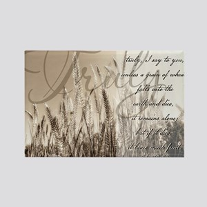 Grain of wheat Rectangle Magnet