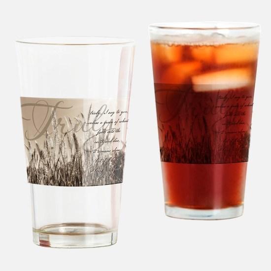 Grain of wheat Drinking Glass
