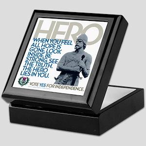 The Hero Keepsake Box