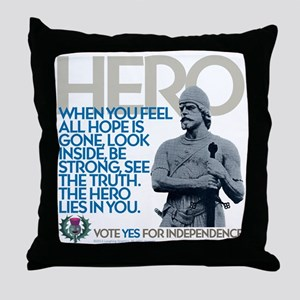 The Hero Throw Pillow