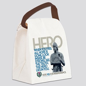 The Hero Canvas Lunch Bag