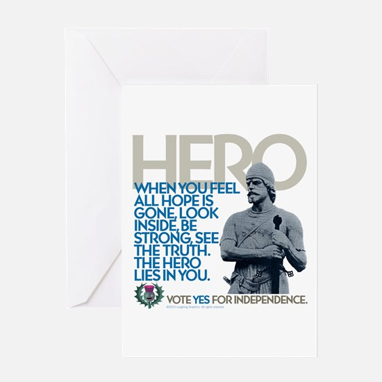 The Hero Greeting Card