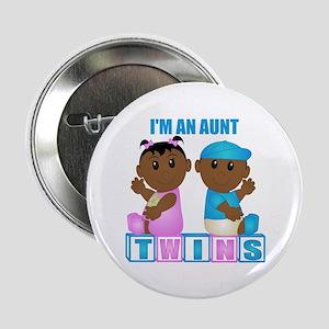 I'm An Aunt (DBG:blk) Button