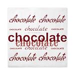 Celebrate Chocolate Queen Duvet