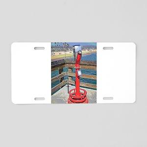 Balboa Pier Aluminum License Plate