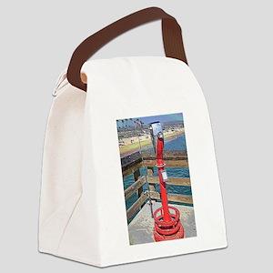 Balboa Pier Canvas Lunch Bag