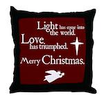 Light & Love Throw Pillow