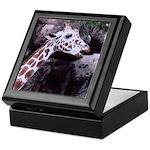 Giraffe Head Art Keepsake Box