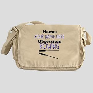 Custom Rowing Obsession Messenger Bag
