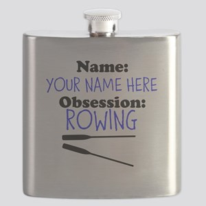 Custom Rowing Obsession Flask