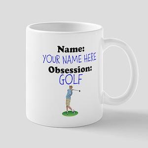 Custom Golf Obsession Mug