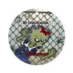 My Living Dead Girl - Ornament (Round)
