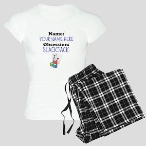 Custom Blackjack Obsession Pajamas