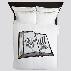 Viking Book. Queen Duvet