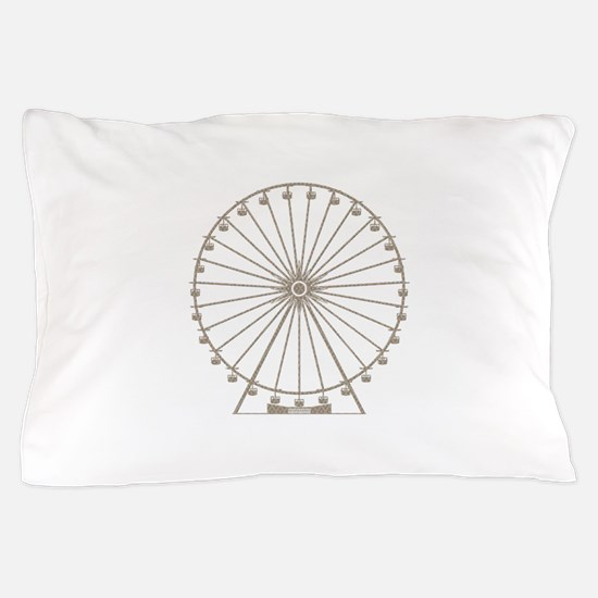Ferris Wheel Pillow Case