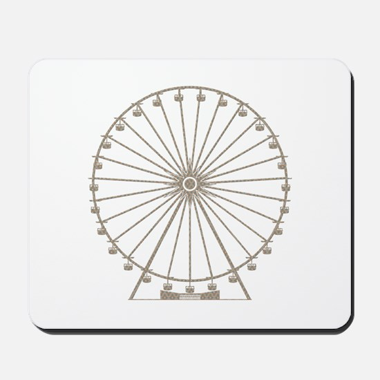 Ferris Wheel Mousepad