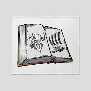 Viking Book. Throw Blanket