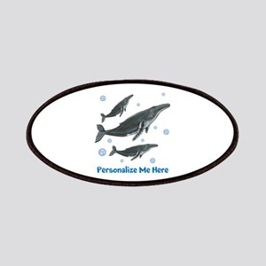 Personalized Humpback Whale Patches
