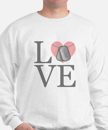 USAF Love Sweatshirt