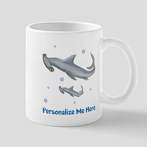 Personalized Hammerhead Shark Mug