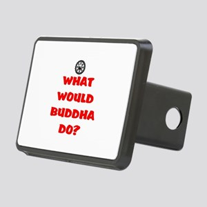 WHAT WOULD BUDDHA DO? Rectangular Hitch Cover