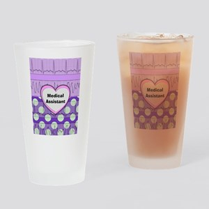 Medical Assistant Drinking Glass