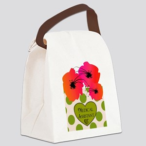 Medical Assistant Canvas Lunch Bag