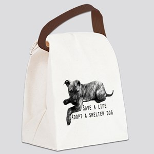 Save a Life Canvas Lunch Bag