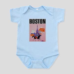 Vintage Boston MA Travel Body Suit