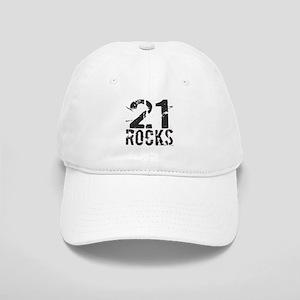 21st Birthday Rocks Cap