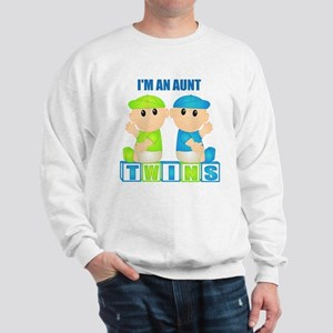 I'm An Aunt (BBB:blk) Sweatshirt