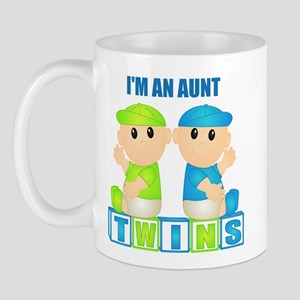 I'm An Aunt (BBB:blk) Mug