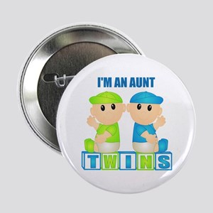 I'm An Aunt (BBB:blk) Button