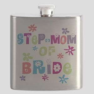 Step-Mom of Bride Flask